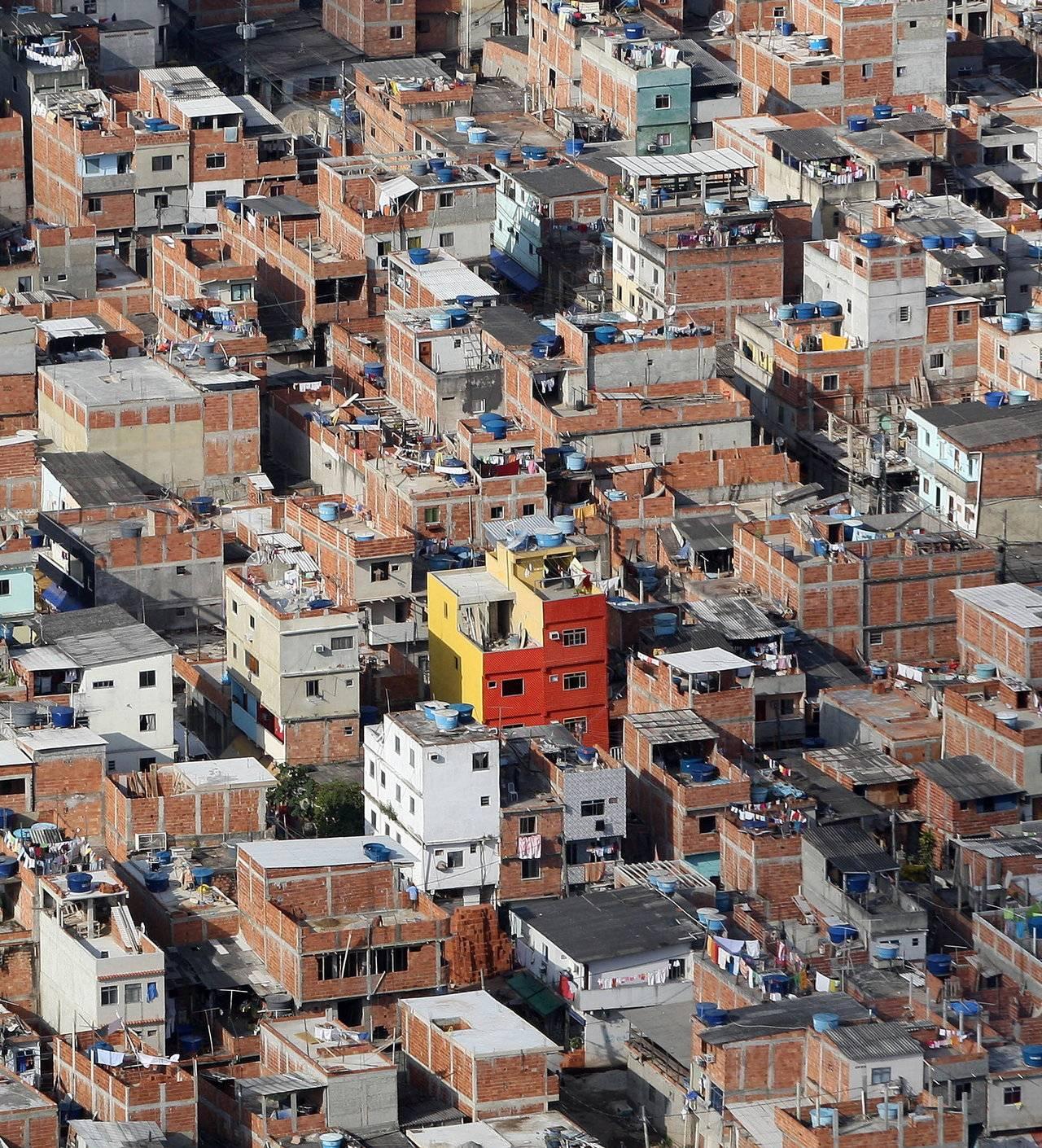 Vista aérea da favela de Rio das Pedras, no Rio de Janeiro.   va/se/VANDERLEI ALMEIDA